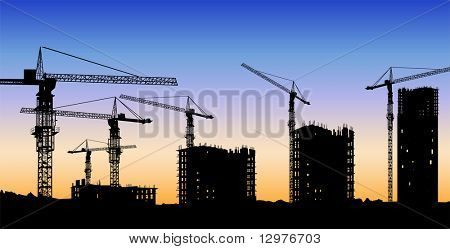 building construction vector
