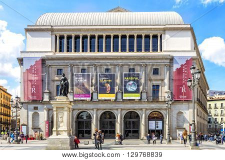 Theater Real  Is A Major Opera House Located In Madrid.