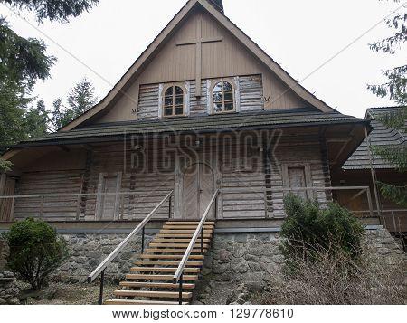 The hermitage of the Albertine Sisters in Zakopane