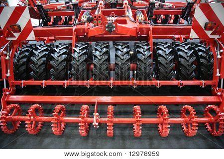 Machine plough details