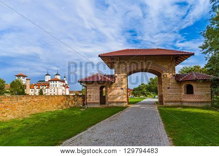 Kovilj Monastery in Fruska Gora - Serbia - architecture travel background