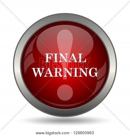Final Warning Icon