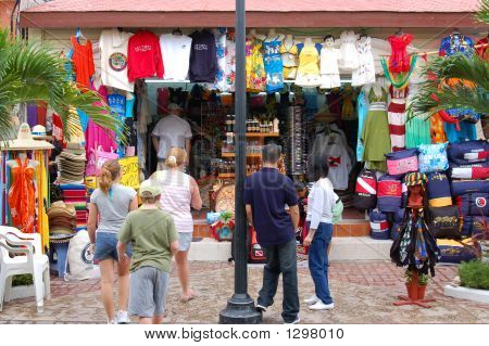 Boutique In Downtown Cozumel Mexico