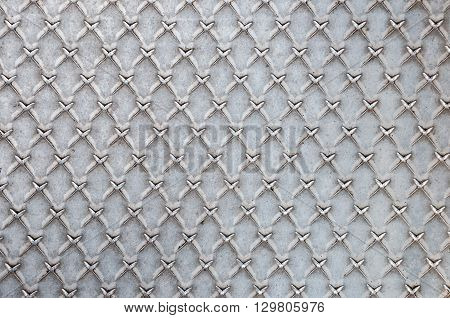 Industrial background or texture made of steel metal sheet
