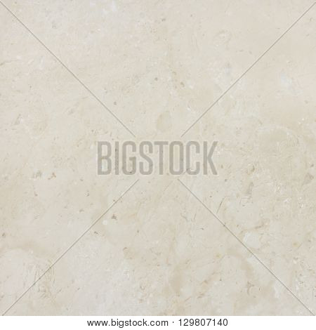 Cream marble with natural pattern. Marble stone wall background texture.