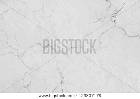 White marble stone wall background. Marble texture with natural pattern.