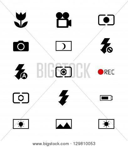 focus camera design, vector illustration eps10 graphic