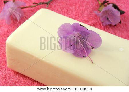 flower soap