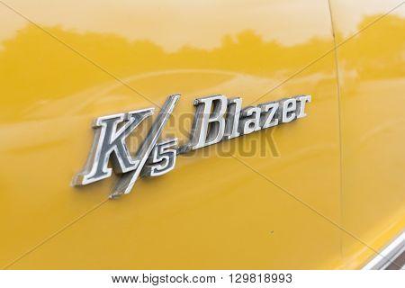 Chevrolet K5 Blazer Emblem
