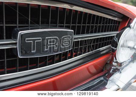 Triumph Tr6 Convertible Logo
