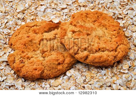Oatmeal Cookies And Oatmeal