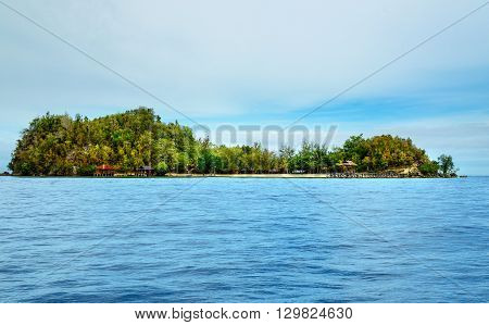 Bolilanga Island. Togean Islands. Indonesia.