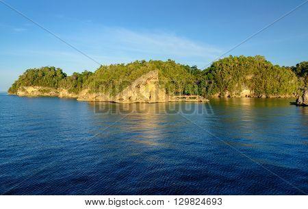 View Of Kadidiri Island. Togean Islands