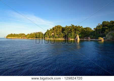 View Of Kadidiri Island. Togean Islands