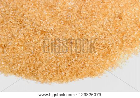 Granulated natural brown cane sugar food healthy