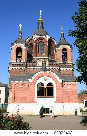 image of one church at sunny day