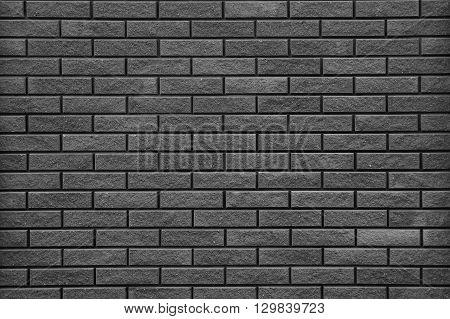 a new black a brick wall background