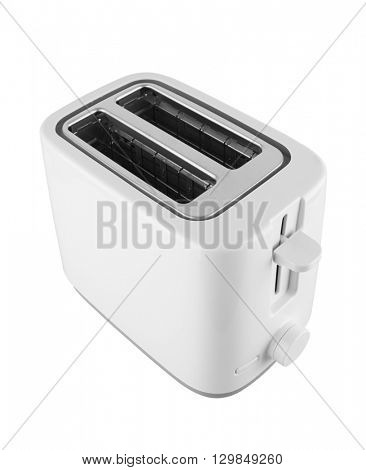 Toaster isolated on white background