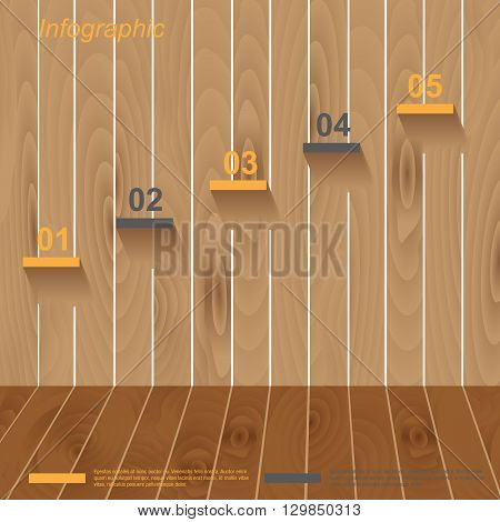Infographic design. Ideal for statistic data display. Infographic design template. Ideal for ranking and statistic data display.