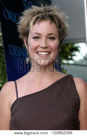 Kim Rhodes at the Los Angeles premiere of 'Tiger Cruise' held at the DGA Theatre in Los Angeles, USA on July 27, 2004.