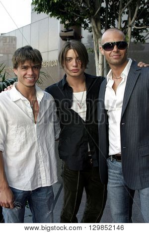 Joey Lawrence at the Los Angeles premiere of 'Tiger Cruise' held at the DGA Theatre in Los Angeles, USA on July 27, 2004.