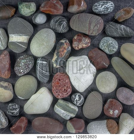 sea stones, perfect background for your concept or project
