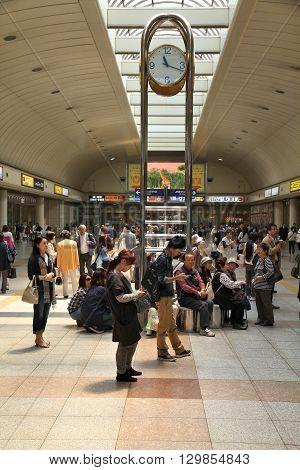 Kawasaki Station, Japan