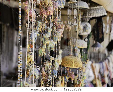Colorful Travel Souvenirs, Amman, Jordan, Middle East