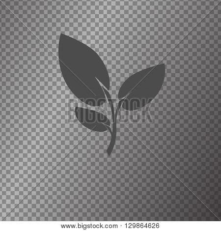 vector icon flower symbol isolated illustration graphik