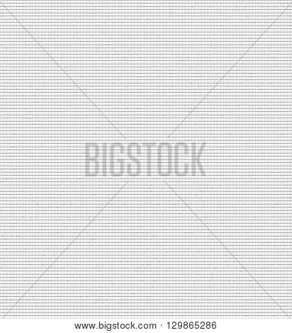 Gray background with small checkered texture. Grey vector texture