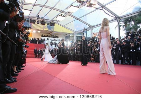 Heike Makatsch attends the screening of 'From The Land Of The Moon (Mal De Pierres)' at the annual 69th Cannes Film Festival at Palais des Festivals on May 15, 2016 in Cannes, France.