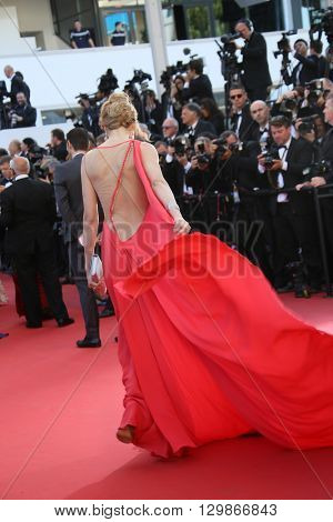 Petra Nemcova attends the screening of 'From The Land Of The Moon (Mal De Pierres)' at the annual 69th Cannes Film Festival at Palais des Festivals on May 15, 2016 in Cannes, France.