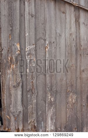 wooden wall of house from old boards