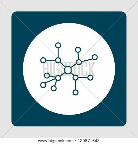 Project Connection Icon In Vector Format. Premium Quality Project Connection Symbol. Web Graphic Pro