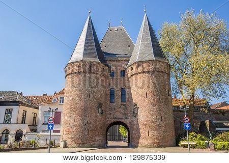 Koornmarktspoort In The Historical Center Of Kampen