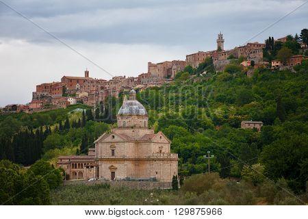 Chiesa di San Biagio church in Montepulciano Tuscany Italy