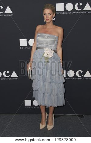 LOS ANGELES - MAY 14:  Nicky Hilton Rothschild at the MOCA Gala at the Geffen Contemporary at MOCA on May 14, 2016 in Los Angeles, CA