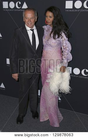 LOS ANGELES - MAY 14:  Wolfgang Puck, Gelila Assef at the MOCA Gala at the Geffen Contemporary at MOCA on May 14, 2016 in Los Angeles, CA