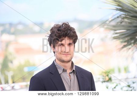 Louis Garrel attends the 'From The Land Of The Moon (Mal De Pierres)' photocall during the 69th annual Cannes Film Festival at the Palais des Festivals on May 15, 2016 in Cannes, France.