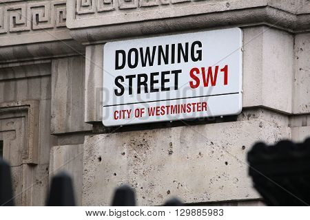 Downing Street, London