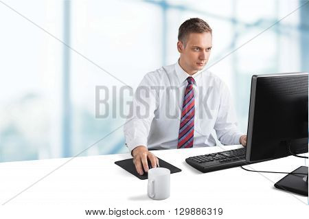 Using Computer.
