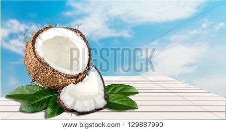 Fresh Coconut.