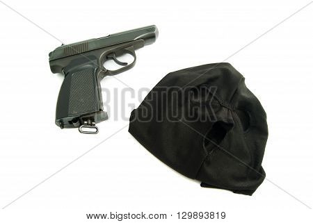 Mask And Gun