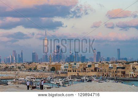 Burj Khalifa (dubai Skyline)