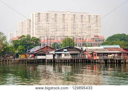 Jetty In Geroge Town, Malaysia