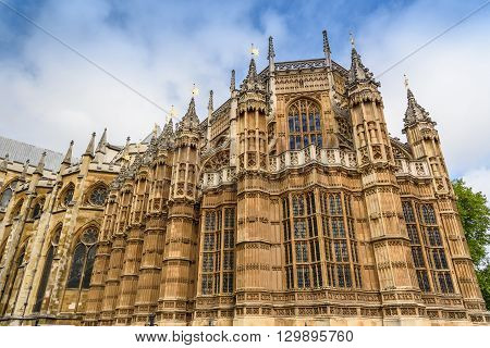 Henry VII Chapel of Westminster Abbey London United Kingdom selective focus
