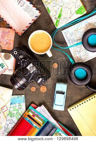 Travel Background. Journey Planning