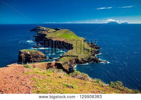 the most eastern point of Madeira island - Cape Ponta de Sao Lourenco