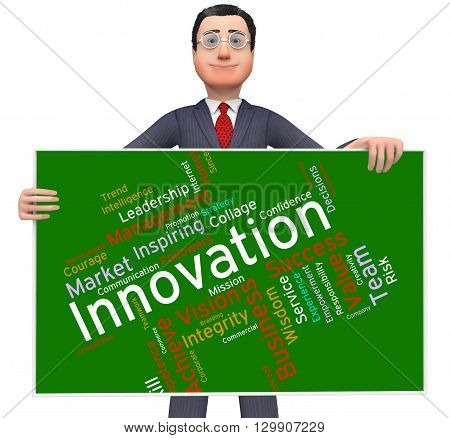 Innovation Words Indicates Transformation Creative And Innovate