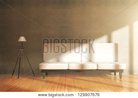 Room Interior With Sofa